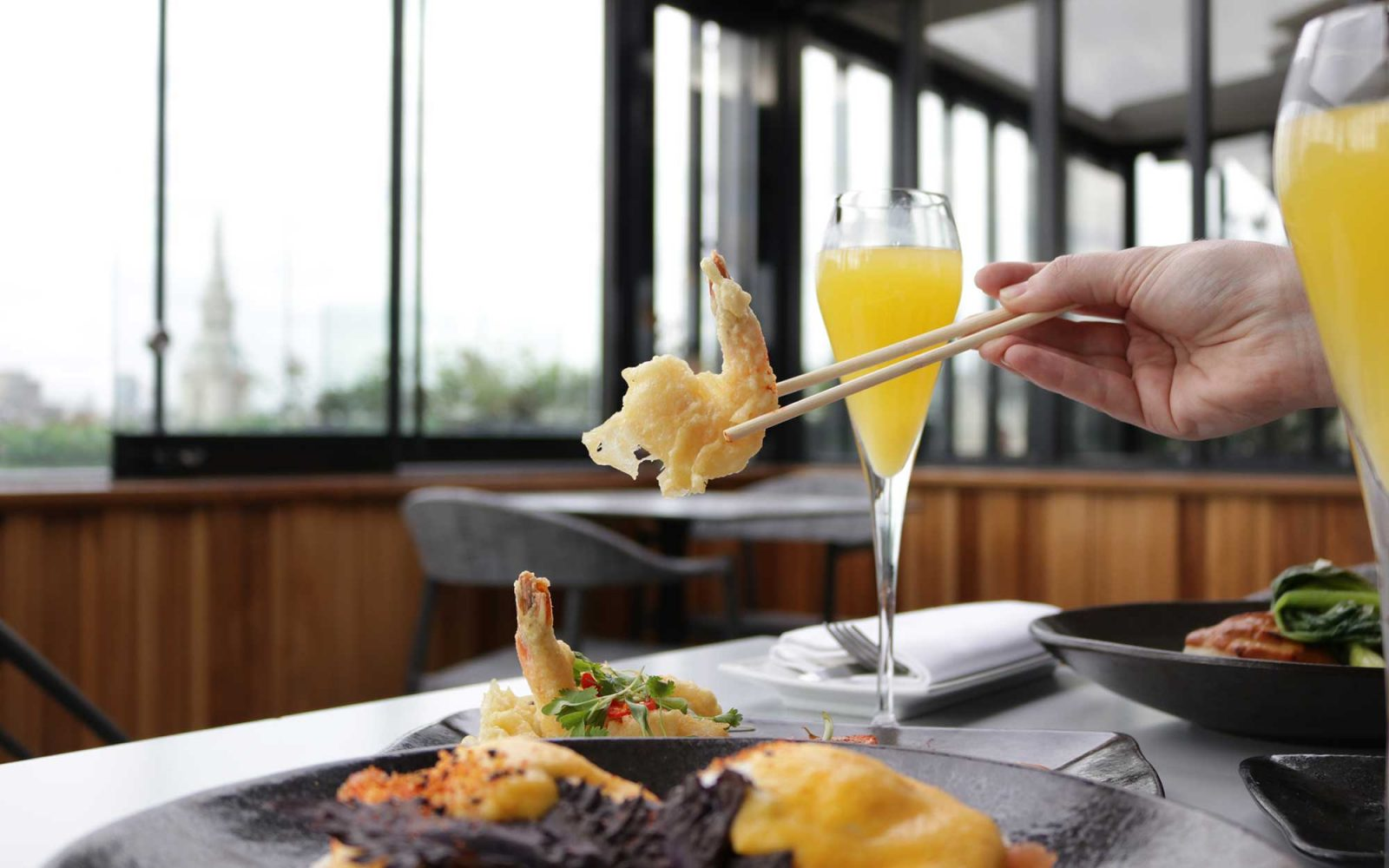 The Rooftop Brunch - Tempura